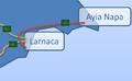 A3 Motorway Cyprus map.png