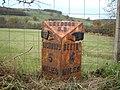 A6108 Milestone - geograph.org.uk - 1049914.jpg