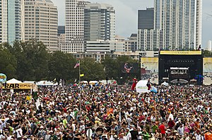 English: Austin City Limits Music Festival, 20...