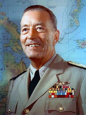United States Navy Admiral Arthur Radford, Cha...