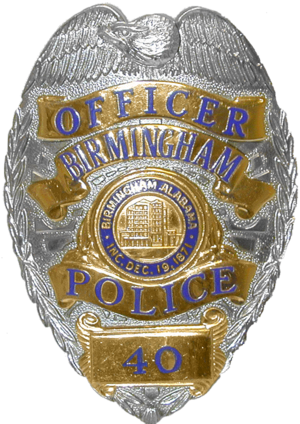 Birmingham Police Department - Image: AL Birmingham Police Badge