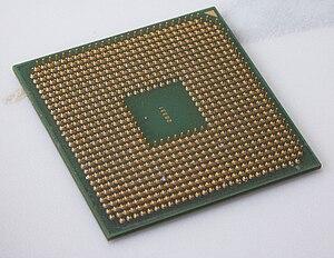 AMD Turion - model MT-34 (bottom)