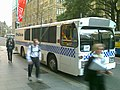 APEC Australia 2007 Police Bus Front, 3 Sept 2007.jpg