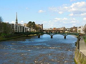 South Ayrshire - Ayr is the largest settlement within South Ayrshire in terms of both area and population