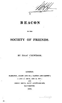 A Beacon to the Society of Friends.djvu