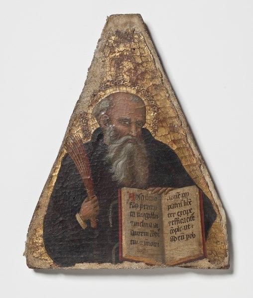 A Prophet. Companion piece to NM 6863 (Mästare av Fogg Pietà)