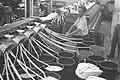 A TEXTILE FACTORY IN HAIFA. תעשייה. בצילום, מפעל טקסטיל בחיפה.D19-055.jpg
