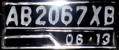 A Vehicle registration plate from Yogyakarta Special District.png