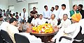 A group of farmers from Ghaziabad calling on the Union Home Minister, Shri Rajnath Singh, in New Delhi on March 27, 2016.jpg