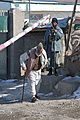 A local Afghan leaves the Khoshi district police station in Logar province, Afghanistan, Jan. 25, 2012 120125-A-BZ540-039.jpg