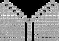 A teljes rokonság (vér- és sógorsági rokonság) genealógiai alapsémája. Szegedi László, Általános genealógia. Budapest, 2015. 124.png