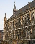 Aachen rathaus front