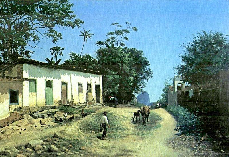 Ficheiro:Abigail de Andrade, 1888, Estrada do Mundo Novo com Pão de Açúcar ao Fundo.jpg