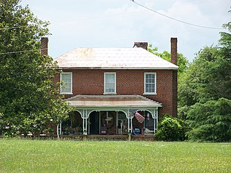 National Register of Historic Places listings in Catawba County, North Carolina - Image: Abraham Anthony Farm