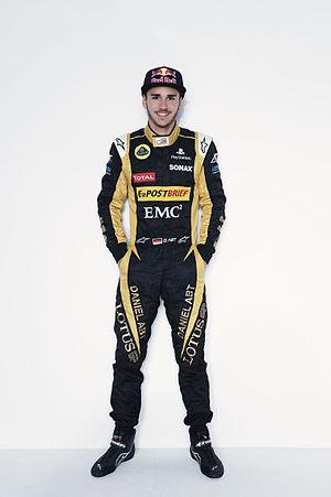 Daniel Abt - Abt in his 2012 Lotus GP suit.