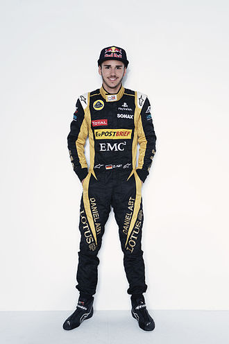 Daniel Abt - Abt in his 2012 Lotus GP suit.