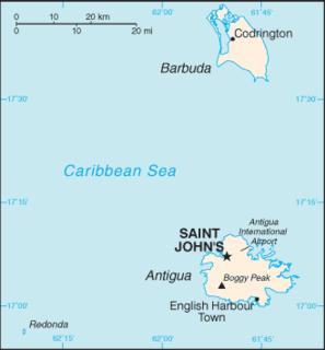 Geography of Antigua and Barbuda
