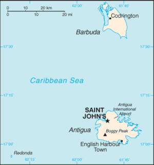 Antigua And Barbuda World Map.Antigua And Barbuda Wikipedia
