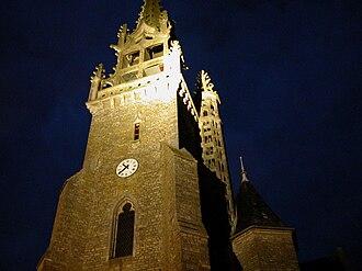 Acigné - The church of Acigné
