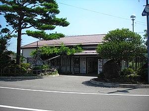 Adachi Station - Adachi Station in August 2008