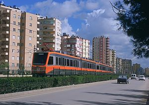 Çukurova, Adana - Adana Metro at Huzurevi District.