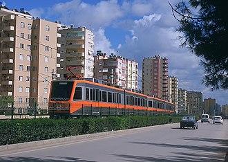 Çukurova, Adana - Adana Metro at Huzurevi District.