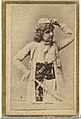 Adelaide Neilson, from the Actresses and Celebrities series (N60, Type 2) promoting Little Beauties Cigarettes for Allen & Ginter brand tobacco products MET DP839489.jpg