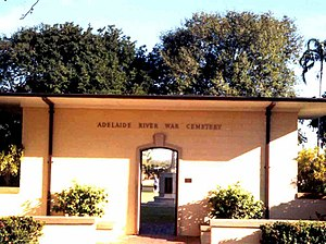 Adelaide River, Northern Territory - Entrance to Adelaide River War Cemetery
