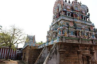 Thiru Aadanoor Temple building in India
