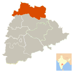 Adilabad district in Telangana.png