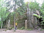 Adolf Hitler's Bunker in Wolfsschanze