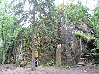 Wolf's Lair - Image: Adolf Hitler's Bunker in Wolfsschanze