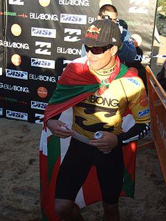 Adriano de Souza Brazilian surfer