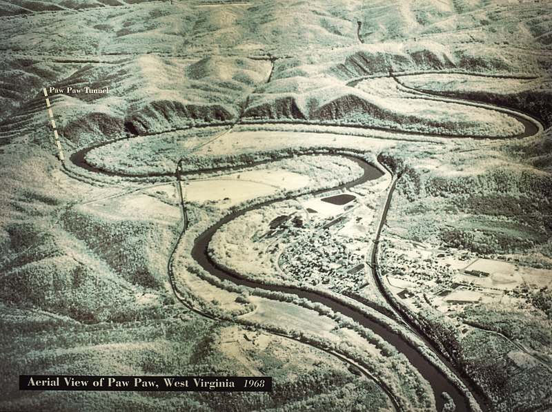 File:Aerial view of Pawpaw Area from NPS exhibit.jpg