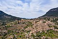 Aerial view of the small village of Valldemossa in Mallorca, Spain (48001588571).jpg