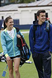 Radwańska at Aegon International Tennis, Devonshire Park, Eastbourne, June 2015.