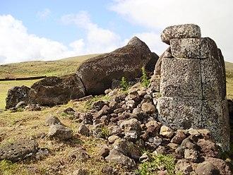 Polygonal masonry - Ahu Vinapú