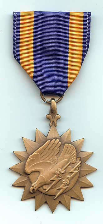 Air Medal - Image: Air Medal front