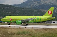 VP-BTP - A319 - S7 Airlines