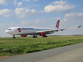 Airbus A330-300, Czech Airlines.jpg