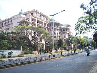Old Airport Road, Bangalore - Image: Airport road Bangalore