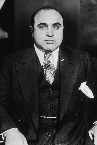 Tintin in America - Chicago gangster Al Capone was included as an antagonist in Tintin in America.