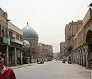 Al Rasheed Street en Bagdado