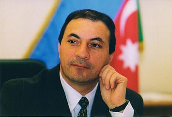 Avaz Alakbarov ex-Minister of Finance of Azerbaijan Republic - List of Azerbaijanis
