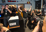 Alan Stern and New Horizons Team Celebrate Pluto Flyby