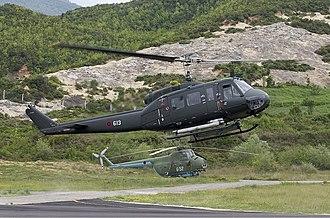 Albanian Air Force - Albanian Agusta AB-205A-1