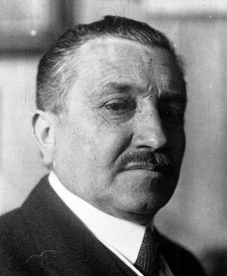 Albert Peyronnet - Peyronnet in 1921