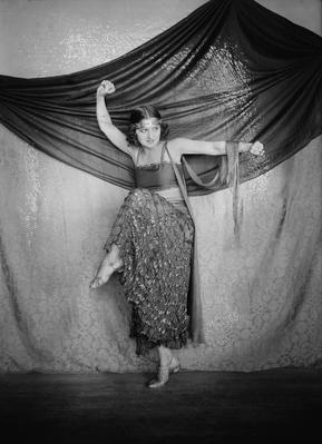 Albertina Rasch, gypsy dance, 1915