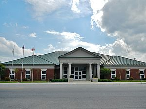 Albertville, Alabama - Image: Albertville, Alabama City Hall
