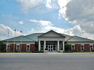 Albertville, Alabama - Image: Albertville, Alabama City Hall